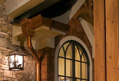 installing gutters  downspounts roof gutters