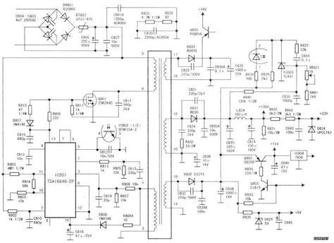 Tda16846 2p Tda16846 tcl王牌nt25a42彩电雷击后不能开机 精通维修下载