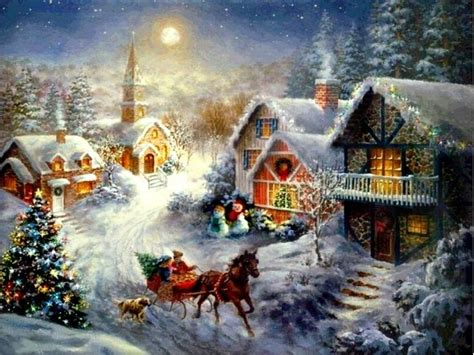 beautiful christmas scenes google search beautiful christmas scenes thomas kinkade