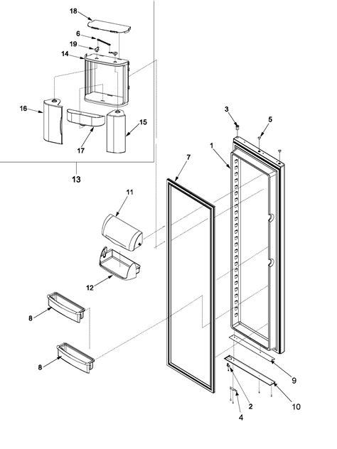 amana amana refrigerator parts model