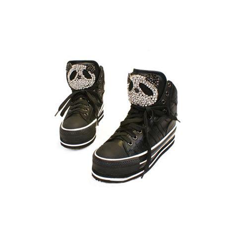 polyvore shoes panda black platform shoes polyvore