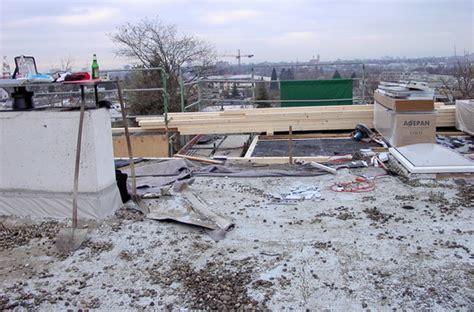 Folie Dachfenster Entfernen by Kies Und Folie Werden Entfernt Holzbau In Sexau