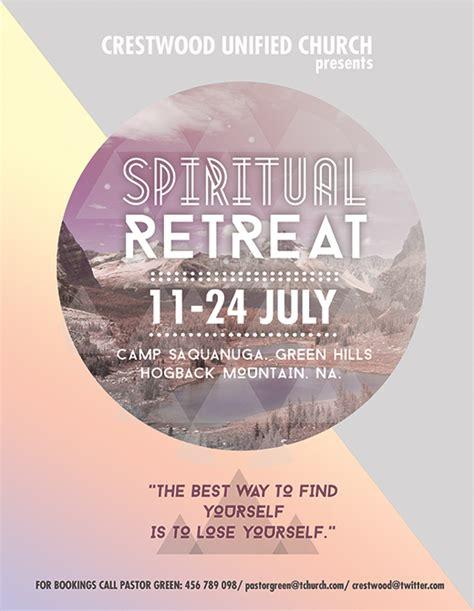 Free Spiritual Religious Photoshop Flyer Templates On Behance Free Printable Church Event Flyer Templates