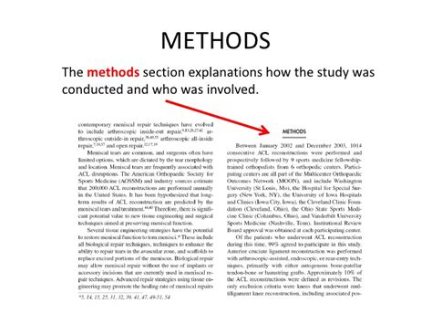 exle methods section what is a methodology section 28 images science thesis