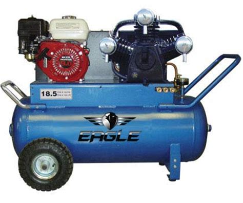 eagle p90g25h1 portable gas air compressor the lawnmower hospital