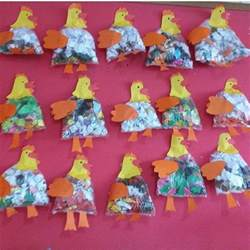 Plastic Bag Crafts For Kids - crafts actvities and worksheets for preschool toddler and kindergarten