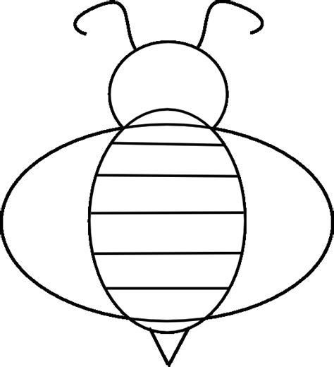 honey bee template bumble bee coloring pages bestofcoloring