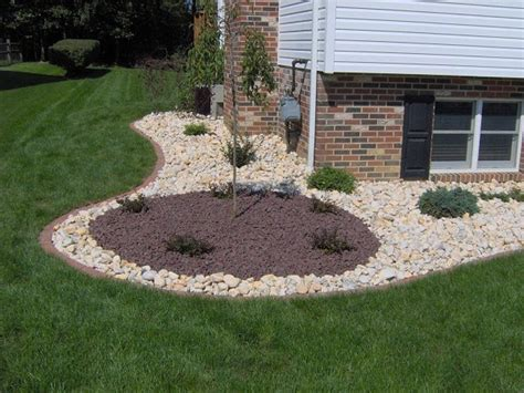 decorative rocks for landscaping best low maintenance front yard landscaping ideas pictures