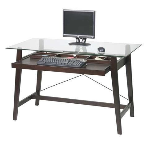 home depot desk l pretty home depot computer desk on simple glass top office