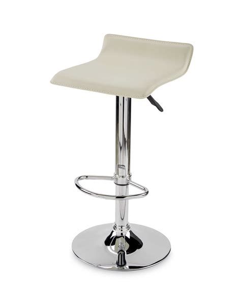Aldi Bar Stools | padded gas lift bar stool cream black 163 17 99 free home