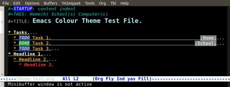 color themes emacs emacs color theme