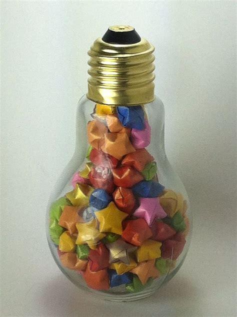 Origami Lucky Jar - 17 best ideas about light bulb jar on
