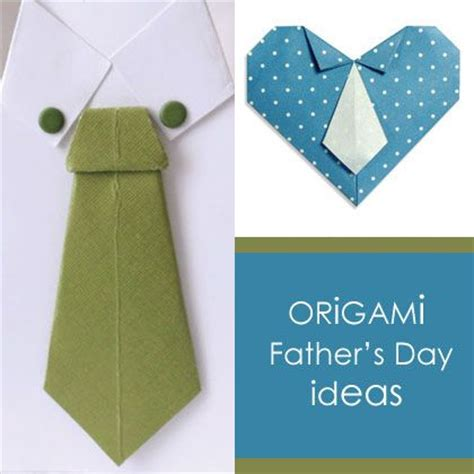 Day Origami Ideas - origami fathers day ideas holidays