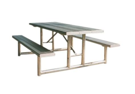 steel picnic table frame heavy duty hpt series picnic table commercial site