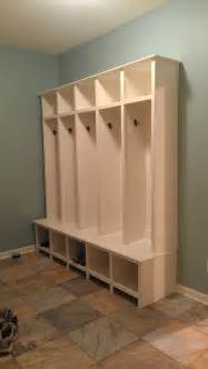 Mudroom Locker Plans Diy by Ana White Mudroom Lockers Diy Projects