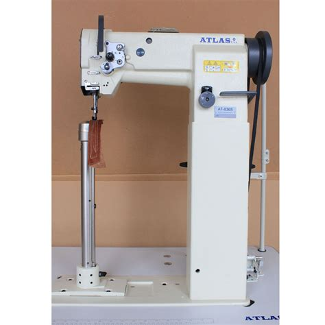 post bed sewing machine high post bed compound feed sewing machine atlasusa at8365