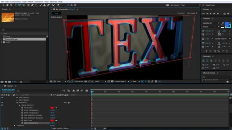 after effects tutorial shockwave text effect part 2 2 extruding 3d text in adobe after effects adobe education