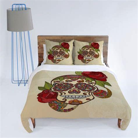 sugar skull bedroom decor valentina ramos sugar skull duvet cover duvet covers
