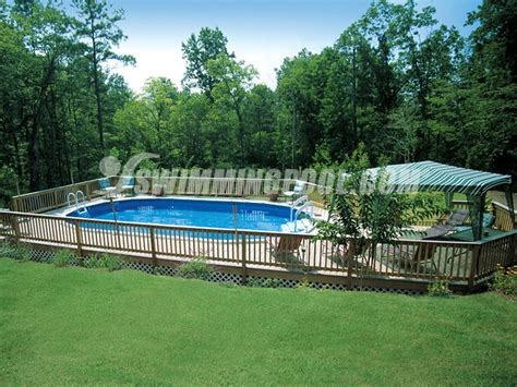 above ground backyard pools backyard above ground swimming pool tips