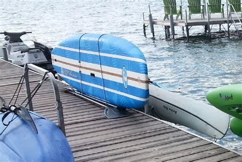 boat dock kayak rack paddle board lift storage rack water entry docksider