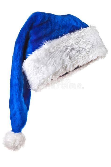 blue magic santa hat stock image image of christmas