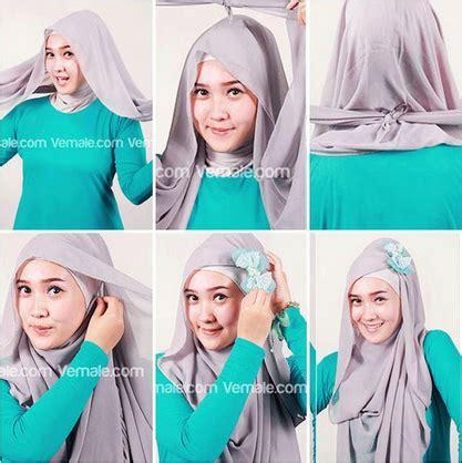 tutorial jilbab segitiga ke pesta tutorial jilbab kreasi jilbab paris untuk ke pesta