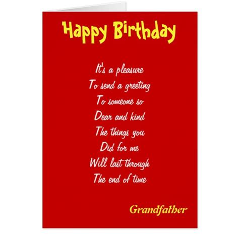 Birthday Greeting Cards For Grandfather A Kind Grandfather Birthday Cards Zazzle