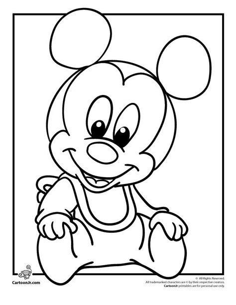 coloring pages of baby toys cool baby minnie mouse drawing hd