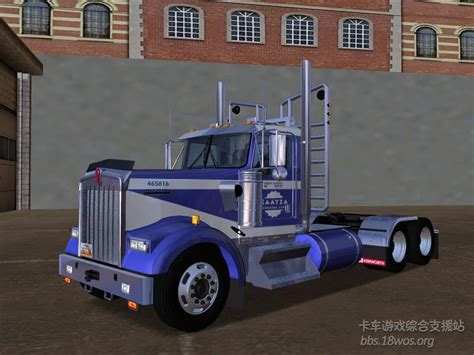 simulator game mod 18 wos haulin kewnorth w900 l dc logger for 18 wheels of steel haulin