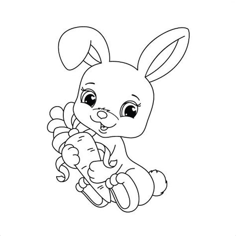 coloring pictures of baby bunnies 9 bunny coloring pages