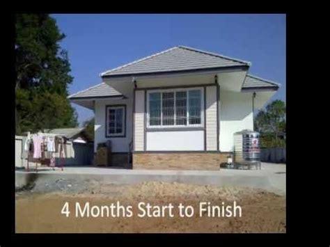 My Thai House Build Movie 2012   YouTube