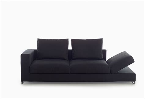 two seater sofa in fabric moving arketipo luxury