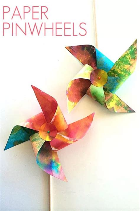 How To Make Paper Pinwheel Decorations - 17 best ideas about paper pinwheels on diy