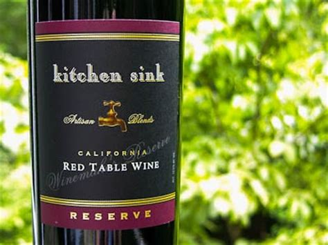 kitchen sink red wine reserve magnolia days