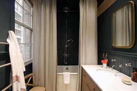 country bathroom  black beadboard country bathroom