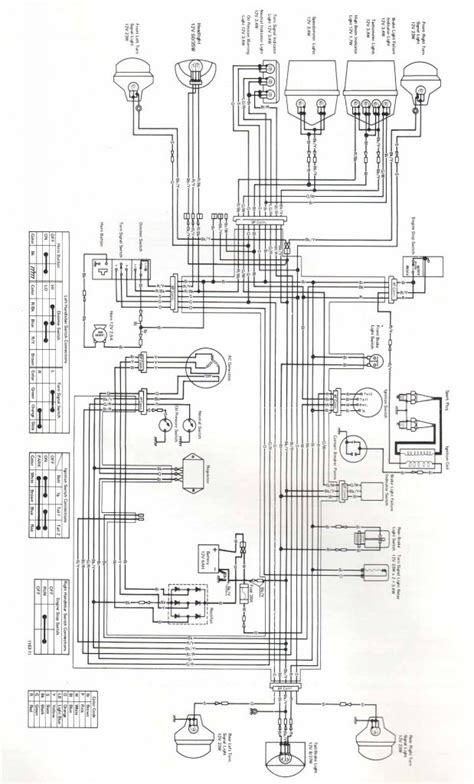 1993 kawasaki 300 atv wiring diagram wiring diagrams