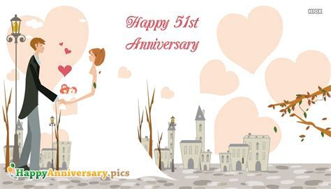 Happy 51st Anniversary Wishes Images