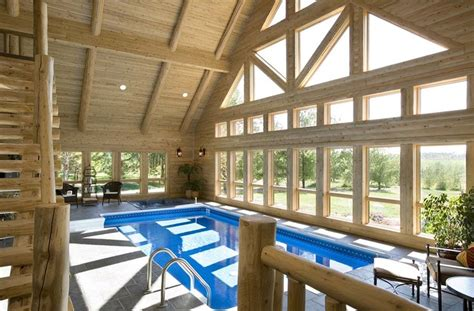 Log Cabins With Indoor Swimming Pools by Log Home With Indoor Swimming Pool Indoor Swimming Pools