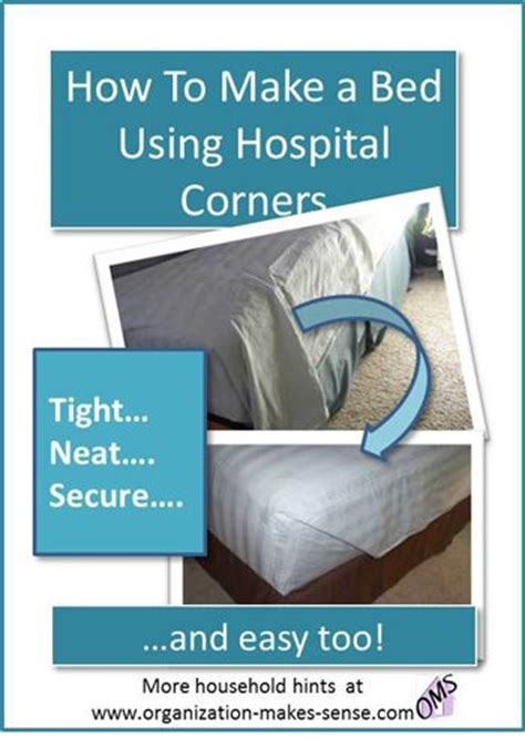 how to make a hospital bed how to make a bed using hospital corners tips for