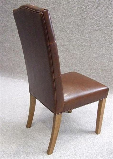 Leather Dining Chair Chesterfield Style Chesterfield Dining Chairs