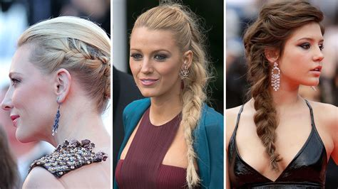 embrace braids 2014 cannes beauty blake lively cate blanchett wear braids