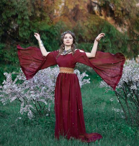 Brocade Cape Longdress ancient dress dress ancient