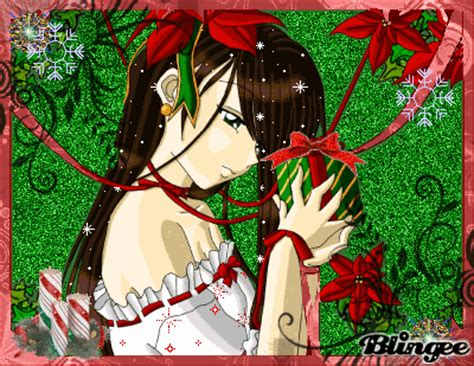 anime christmas gift picture 77535396 blingee com