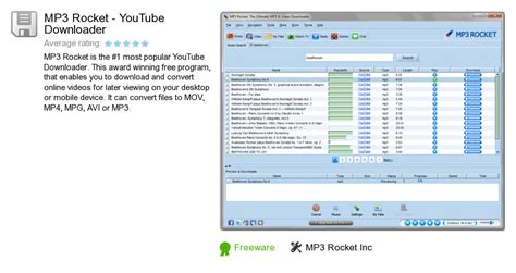 download youtube to mp3 converter rocket mp3 rocket youtube downloader v6 0 6 free download