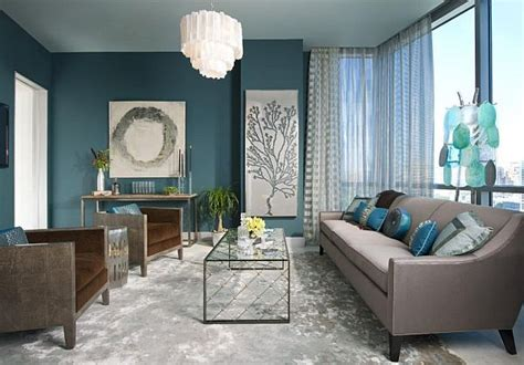 Grey And Turquoise Living Room with Turquoise Interior Design Inspiration Rooms