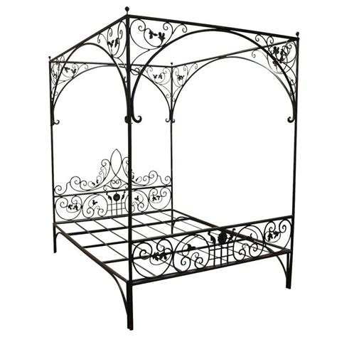 Wrought Iron Canopy Bed Frames Wrought Iron Vine Canopy Bed At 1stdibs