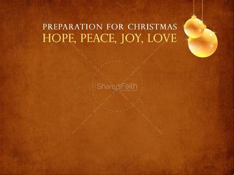 advent themes hope love joy peace advent sermon powerpoint christmas powerpoints
