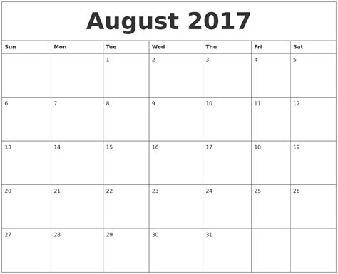 printable monthly calendar 2017 july 2017 calendar pages