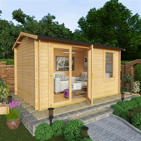 billyoh 4 0 x 2 5 28mm garden log cabins garden