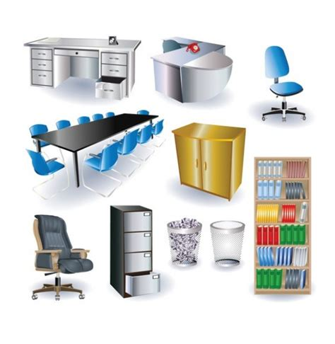 icon design office 10 stylish 3d office furniture vector icons welovesolo